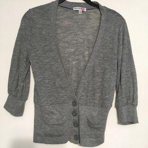 Body Central 3/4 Sleeve Cardigan